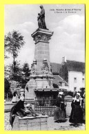 CPA 56 SAINTE ANNE D'AURAY L'entrée à La Fontaine ( Marchande De Pain, Petits Métiers ) - Sainte Anne D'Auray