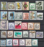 Lotto A41h Austria Collezione Di 30 Francobolli Usati E Differenti Osterreich - Austria