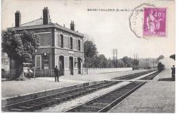 BOISSY L'AILLERIE - La Gare - Train - Boissy-l'Aillerie