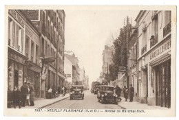 Cpa: 93 NEUILLY PLAISANCE Avenue Du Maréchal Foch (Comptoirs Français, Voitures) N° 7987 - Neuilly Plaisance