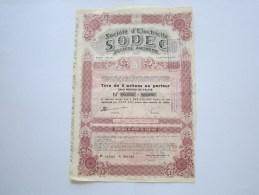 SODEC - Electricité & Gaz