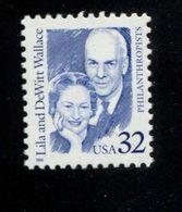 88554317 U.S.A. 1998 ** MNH 2936 Great Americans LILA AND DEWITT WALLACE - Estados Unidos