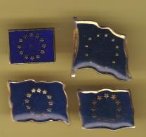 50716- Lot De 6 Pin's-Drapeaux.Europe... - Cities
