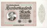 100 000 Mark - 1980 - REICHSBANKNOTE - UNC ! - [ 7] 1949-… : RFA - Rep. Fed. Tedesca