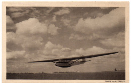 Aviation -  Planeur Biplace D'entraînement Castel 24 -  Ed. Amicale Du Vol à Voile Français - Avions