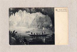 """62969    Belgio,  Grotte De Han,  Le  Lac  D""""Embarquement,  NV - Rochefort"""