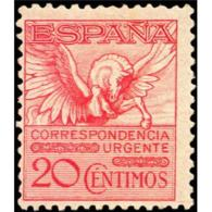 ES454STV-LFT**454. España. Spain.Espagne PEGASO.1929.(Ed 454*)con Charnela.MUY BONITO - Nuevos