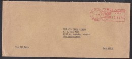 Saudi Arabia: Airmail Cover Dammam To Netherlands, 1999, Meter Cancel (traces Of Use) - Saoedi-Arabië
