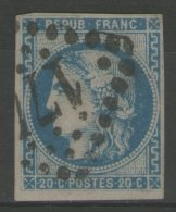 N°46B Oblitéré     - Cote 25€ -