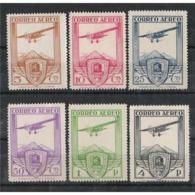 ES483STV-FT**483. Spain Espagne.Aviones.CONGRESO FERROCARRILES  AEREO 1930 (Ed 483/8*)con Lcharnela,MAGNIFICA - 1889-1931 Reino: Alfonso XIII