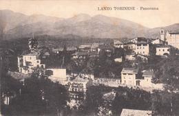 LANZO TORINESE-TORINO-PANORAMA-VIAGGIATA 9/6/1910-OTTIMA CONSERVAZIONE-2 SCAN- - Italie