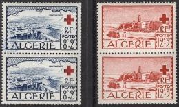 ALGERIE 1952 - SERIE EN PAIRE  Y.T. N° 300 Et 301 - 4 TP NEUFS** - A1 - Algeria (1924-1962)