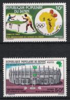 Benin 1976 Mi# 84-85 ** MNH Sport WEST AFRICAN UNIVERSITY SPORT GAMES Cotonou - Benin – Dahomey (1960-...)