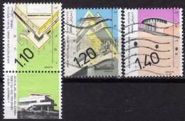 ISRAEL 1990 - MiNr: 1174+1175+1187  Used - Israel