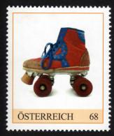 ÖSTERREICH 2015 ** Rollschuhe, Roller Skates - PM Personalisierte Marke MNH - Kind & Jugend