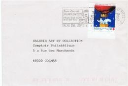 ARTI-L24 - FRANCE Flamme Illustrée De PALAU DEL VIDRE Arts Du Verre - Vetri & Vetrate