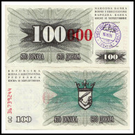 BOSNIE HERZEGOVINE 100000 DINARA 15.10.1993  P-53b - Bosnia Erzegovina