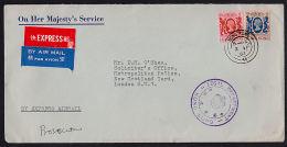 A0637 HONG KONG 1983, Cover From Hong Kong Legal Dept To UK - Hong Kong (...-1997)