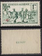 ALGERIE 1939 - Y.T. N° 161  - NEUFS** GOMME TACHE - A11 - Algérie (1924-1962)