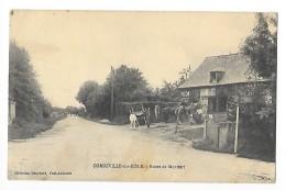 CORNEVILLE -SUR-RISLE  (cpa 27)  Route De Montfort    --L 1 - Andere Gemeenten