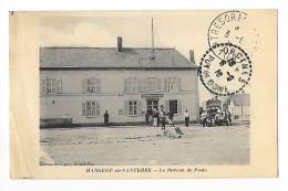 ANGEST En SANTERRE  (cpa 80)  Le Bureau De Poste - Vieux Camion -  --L 1 - France