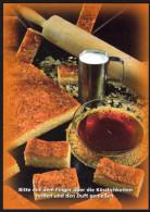 Süße Mehlspeise BIENENSTIECH - Rezeptkarte Mit Duftaroma - Küchenrezepte