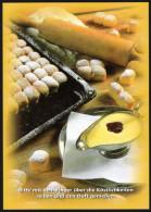 Süße Mehlspeise DUKATENBUCHTELN - Rezeptkarte Mit Duftaroma - Küchenrezepte