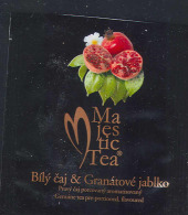 Tea Bag - MajesticTea - White Tea And Pomegranate, Czech Republic - Etiquettes