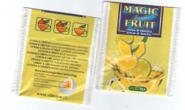 Tea Bag - Magic Fruit - Citrone And Lime, Czech Republic- VITTOTea - Etiquettes