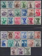 Austria  1948-58  Trachten   (o) X33 - 1945-.... 2nd Republic