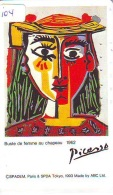 Télécarte JAPON PEINTURE * ART * PICASSO * TELEFONKARTE * Gemälde (104) Phonecard Japan * KUNST * SCHILDERIJ - Pintura