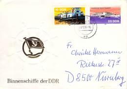 R Michel # 2651, 2653 MiF - Cartas