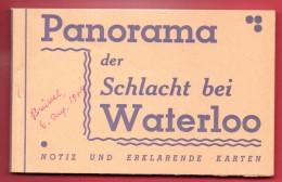 Bataille De Waterloo( 18 Juin 1915). Carnet De 12 Cartes . Légendes En Allemand - Guerres - Autres
