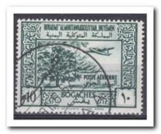 Yemen 1951, Gestempeld USED, Trees, Airplane - Yemen