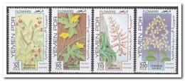 Yemen 1981, Postfris MNH, Flowers, Plants - Yemen