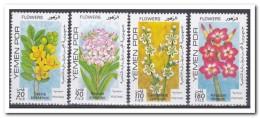 Yemen 1980, Postfris MNH, Flowers, Plants - Yemen