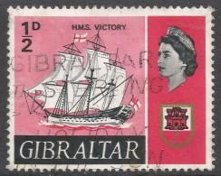 Gibraltar. 1967-69 Ships. ½d Used. SG200 - Gibraltar