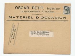 983/23 - Carte Publicitaire PREO Bruxelles 1909 - Matériel D' Occasion , Oscar Petit , Ingénieur - Avec Prix - Precancels