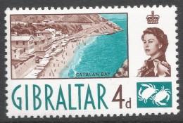 Gibraltar. 1960-62 QEII. 4d MH. SG165 - Gibraltar
