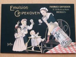 MANNEKEN PIS CLUB BRUSSELS ( N° 112 ) ( Club Postcards Cartophile Prentkaarten ) Anno 19?? ( Zie Foto Voor Details ) !! - Bourses & Salons De Collections