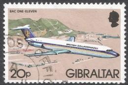 Gibraltar. 1982 Aircraft. 20p Used. SG 469 - Gibraltar