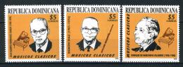 2000 - REP. DOMINICANA -  Mi.  Nr. 2009/2011 -  NH -( **) - (G-EA-361366.1) - Repubblica Domenicana