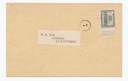 991/23 - Carte Publicitaire PREO Bruxelles 1908 - Chaux Hydraulique De BERZEE , Par A-J. Forest à ETTERBEEK - Precancels