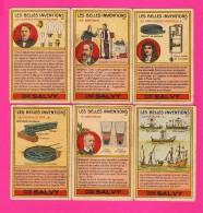 LOT DE 6 CHROMOS (Réf : VV467) FARINE LACTÉE SALVY VERNON (EURE) - Trade Cards