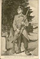 SOUVENIR DE LA MOBILISATION  DE L'ARMEE SUISSE  1914 ( SIGNE  J. JAQUES ) - Guerre 1914-18