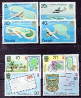 TUVALU Timbres Neufs ** De1979 / 1980   ( Ref 3691 ) - Tuvalu