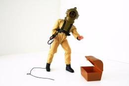 Vintage BIG JIM - ACTION FIGURE - TERROR OF TAHITI - Mattel 1971 - Action Man - Action Man