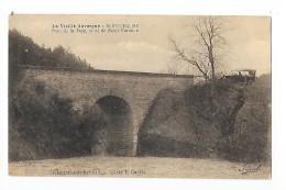 BLOT L´EGLISE  (cpa 63)  Pont De La Faye, Route De Saint-pardoux - Vieille Voiture -    --L 1 - Andere Gemeenten