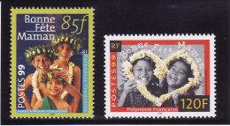 POLYNESIE FRANCAISE 1999 - N° 586 Et 587 - Neufs** - Unused Stamps