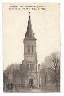 BUSSIERES Et PRUNS  (cpa 63)  Place De L'église - Environs D'Aigueperse -     --L 1 - France